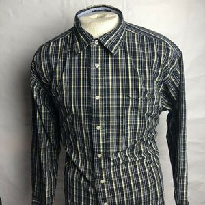 Tommy Hilfiger Mens Blue & Yellow Long Sleeve